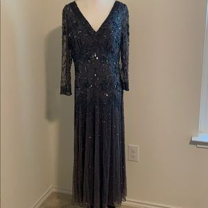 Pizarro Nights Evening Gown Beaded Dress